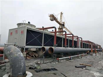 工业冷却塔布水系统的清理