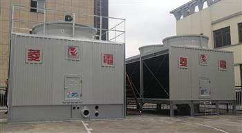 菱电冷却塔的基本组成