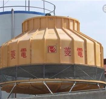 降低环境污染的——逆流式圆形冷却塔