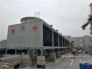 菱电冷却塔换热面积大小的构造