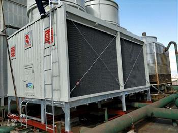菱电冷却塔上的除水器