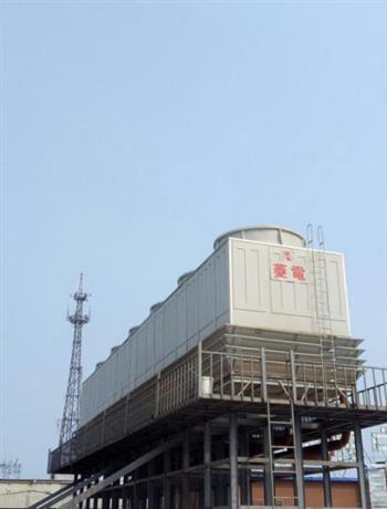 接触核电和海水的菱电冷却塔